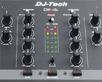 DJ Tech's DIF-1S Is A Dope Mixer, Perfect For A Cheap Budget